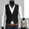 men's vest 1 button luxuriant Soft
