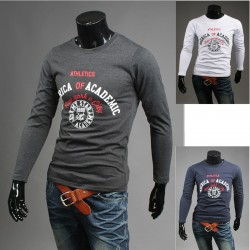 Amerika akademinio vyriškų apvalių marškiniai