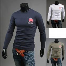NYC sort stil runde skjorter