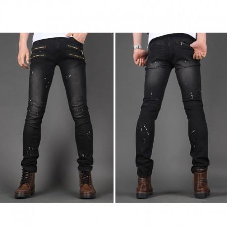 Männer dünne Jeans schlank einzigartige Kiementasche