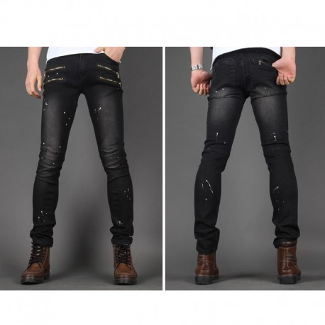 men's skinny jeans slim unique gill pocket
