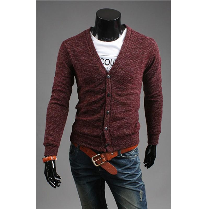 e4998858 mænds lange cardigan | mænds gæring 5 knap cardigan sweater