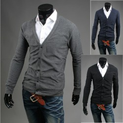 men's cardigan wave