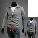 pánske sveter na zips sa pliesť pletacie priadze