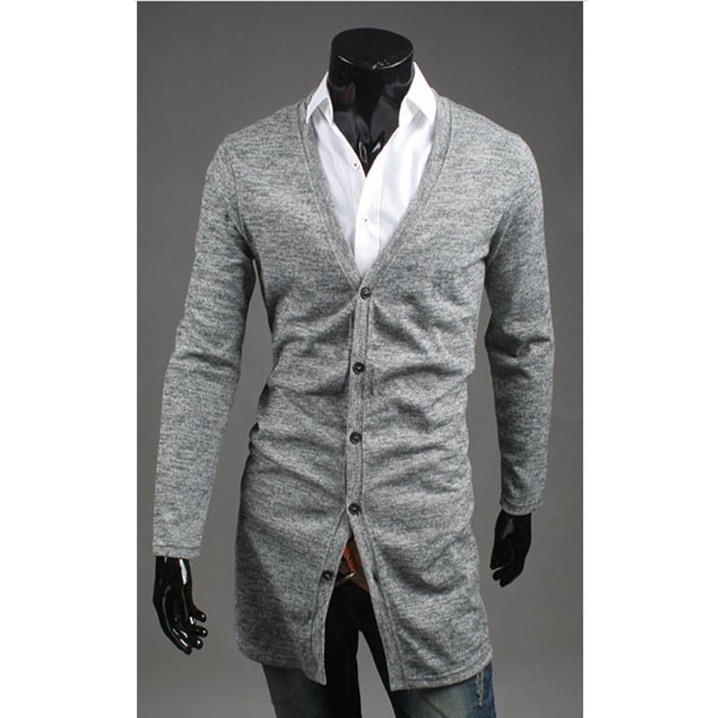 00f7be067b52 ... pánske dlhý sveter kabát ...