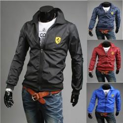 ferrari skjold mænds vindjakke jakke