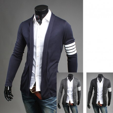 vīriešu šalle jaka piedurknes līnija 4