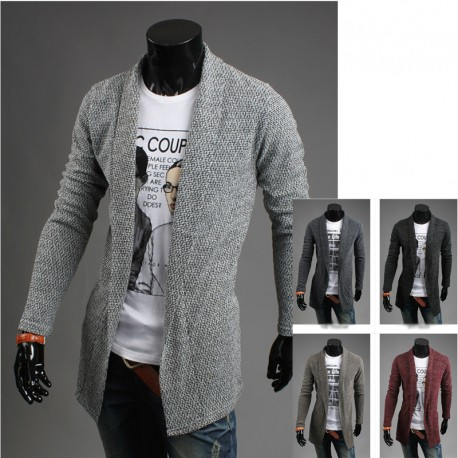 men's long shawl cardigan bocasi