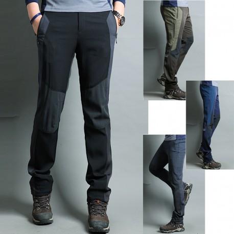 pantaloni da trekking uomini arrampicata circolazione dell'aria