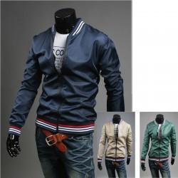 4 линии цветни мъжко яке яке