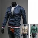 4 linjefärg män windbreaker jacka
