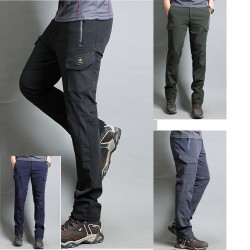 mannen wandelschoenen broek cargozak
