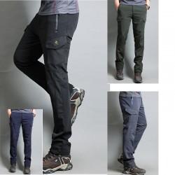 Vīriešu pārgājienu bikses kravas kabatas