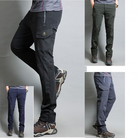 men's hiking pants cargo pocket