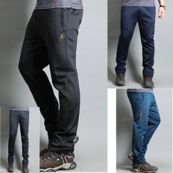 mannen wandelschoenen broek training rubber overspanning
