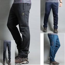 pánské turistické kalhoty trénink guma span