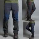 férfi gyalogos nadrág szilárd hármas szín