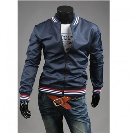 4 line farve mænds vindjakke jakke