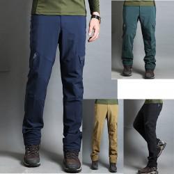 pantaloni pentru drumeții bărbați se întind de culoare de bază