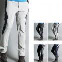 pánske turistické nohavice z vnútornej strany na zips