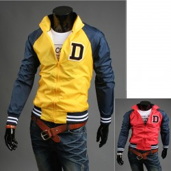 Inițialele jacheta windbreaker bărbați D lui