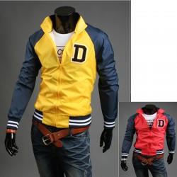 Initialer D mænds vindjakke jakke