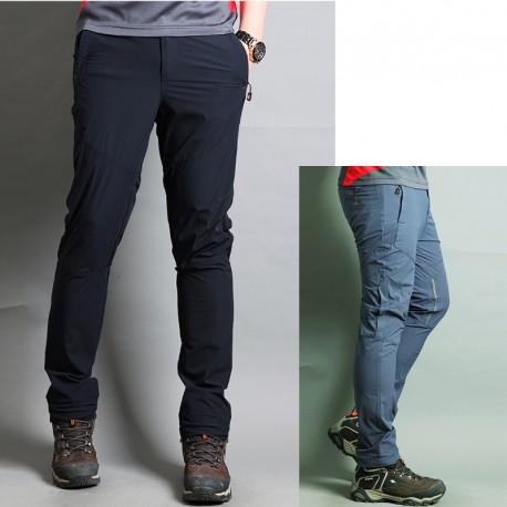 Uomo pantaloni da trekking ginocchio aria condizionata