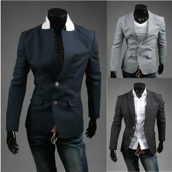 blazer 2 κόκκινο κουμπί βελονιά Holl ανδρών