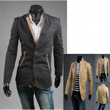 men's blazer rider collar