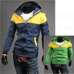 μπουφάν αντιανεμικό hoodie ανδρών