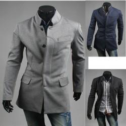 mænds tyske hær frakke jakke