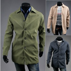 pánske priekopa kabát béžová