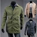 trench cappotto beige maschile