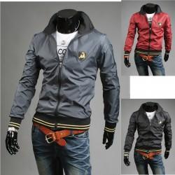lamborghini boyun çizgisi erkek rüzgarlık ceket