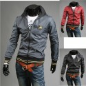 lamborghini neck line men's windbreaker jacket