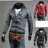 lamborghini hals line mænds vindjakke jakke