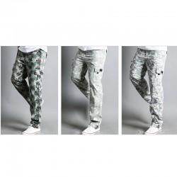erkekler rahat dijital askeri kargo soğutma kamuflaj pantolon en