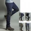 pánske turistické nohavice vychladnúť pevné kolien polstrované nohavice
