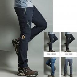 vīriešu pārgājienu bikses atdzist bifeļa kārta ielāpu bikses