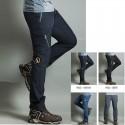pantaloni pentru drumeții bărbați rece de bivol rundă pantaloni patch-uri