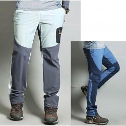 pánska hikingové nohavice v pohode pastelové farby pevné nohavíc je
