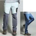 férfi gyalogos nadrág hűvös pasztell színű szilárd nadrágja a