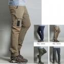 erkekler yürüyüş pantolon serin cırt kargo cep pantolon en