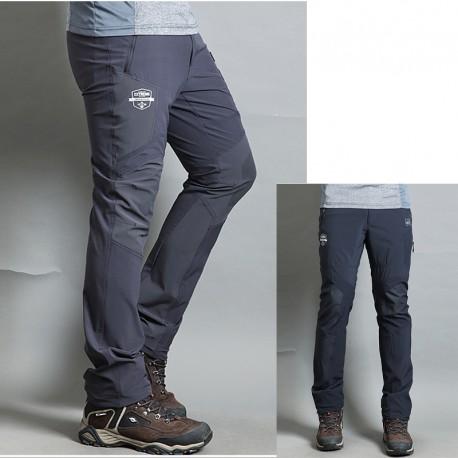 мъжки туризъм панталоните е супер extrime планински печат на панталоните си
