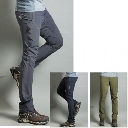 men's hiking pant's cool line hidden zipper trouser's