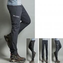 erkekler yürüyüş pantolon serin lastik bant kentsel açık pantolon en