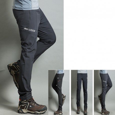 men's hiking pant's cool rubber band urban outdoor trouser's