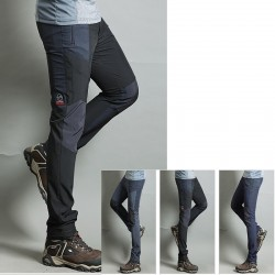 fraîche étirement pantalon solide de la randonnée de la culotte des hommes de charbon de bois