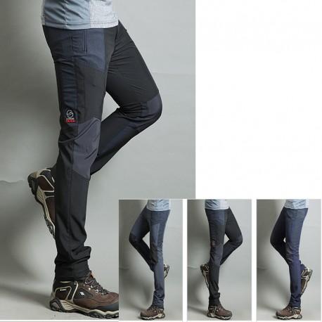 tratto carbone fresco escursioni di pantaloni da uomo solido pantaloni di