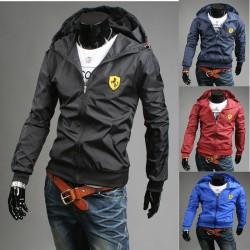 FERRARI балахон мужские ветровки куртки